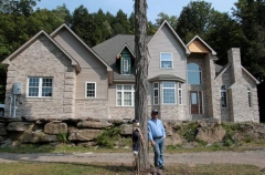 Scott Ely's New 7,000 sq. ft. home - A product of his natural gas royalties received